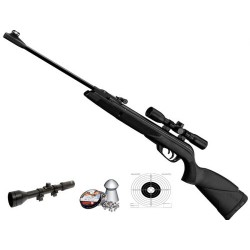 Carabina GAMO Black Shadow Combo + visor 4x28 TV + balines