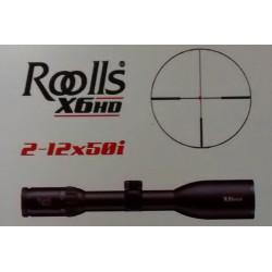 Visor Roolls X6HD 2-12x50i