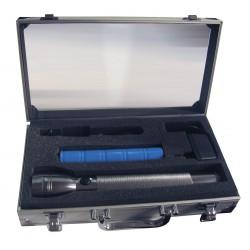 Estuche Aluminio Linterna Recargable ZF303-CD