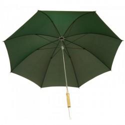 Paraguas con extensión verde caqui