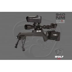 Nite Site Wolf ELITE Dark Ops visión nocturna 0-300 metros