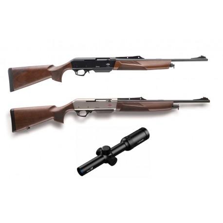 Pack Monteria - Rifle F. Lli Pietta Chronos + monturas + Visor + Armero
