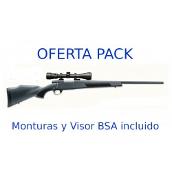 Rifle Weatherby Vanguard S2 monturas y Visor incluido