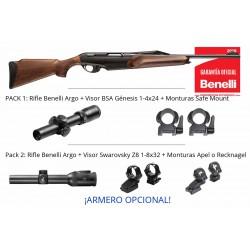 Configurador - Rifle Benelli Argo + monturas + Visor + Armero