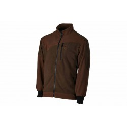 Polar Browning Powerfleece One Zippin verde marron