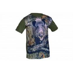 Camiseta Benisport 3D Jabalí