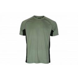 Camiseta Benisport técnica caqui/negro