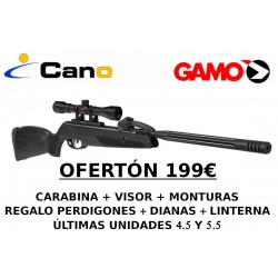 PACK OFERTA - Carabina Gamo Replay X + Visor + Regalos