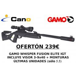 PACK OFERTA - Carabina Gamo Whisper Elite IGT + Visor 3-9x40