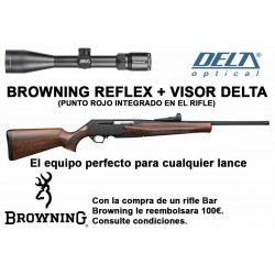PACK OFERTA - Browning Bar Mk3 Reflex Hunter + Visor Delta