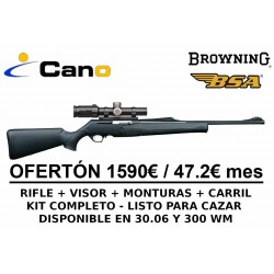 PACK OFERTA - Rifle Browning Bar Mk3 Composite + Visor