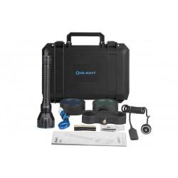 Kit de caza Olight LED recargable Javelot Turbo 1.300 lum.