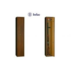 Armero Homologado INFAC LHP6 con Visor. Nogal